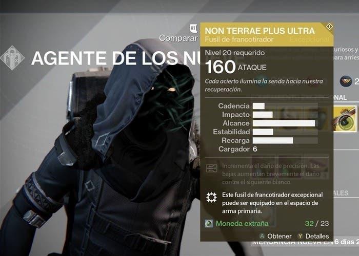 Destiny Xur 11 septiembre