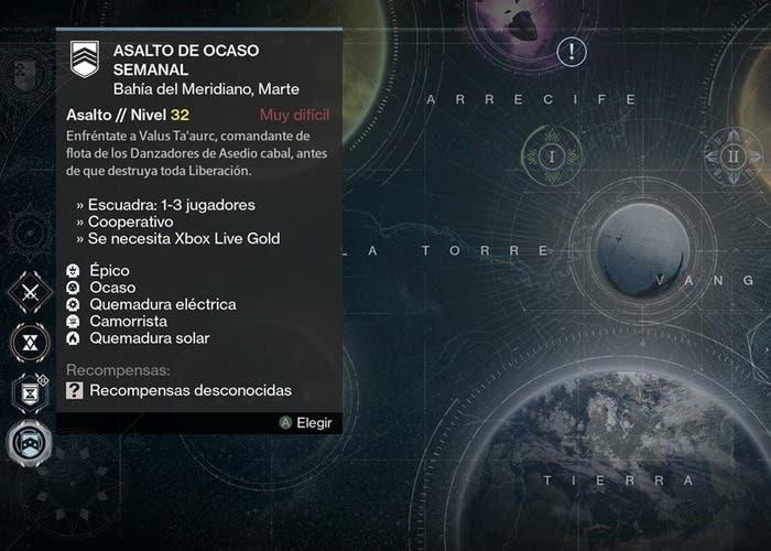 Destiny reset 1 septiembre