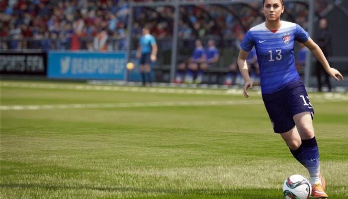 Jugadora en FIFA 16