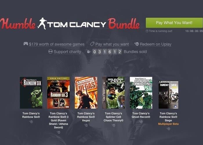Humble Tom Clancy Bundle