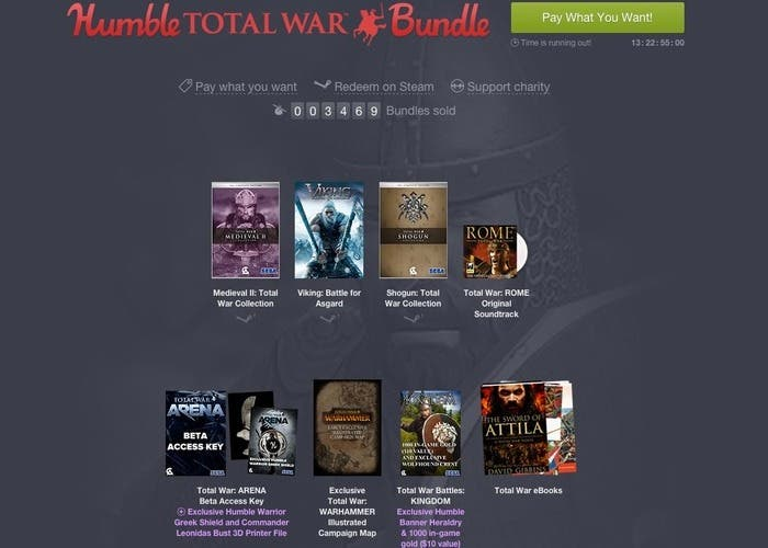 Humble Total War Bundle