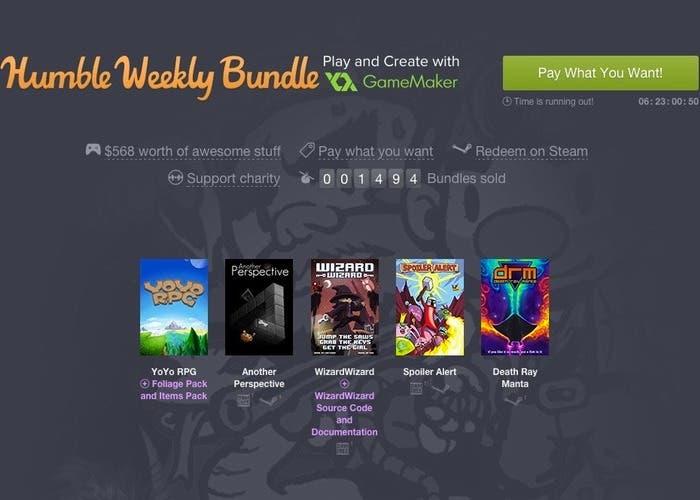 Humble Weekly Bundle GameMaker