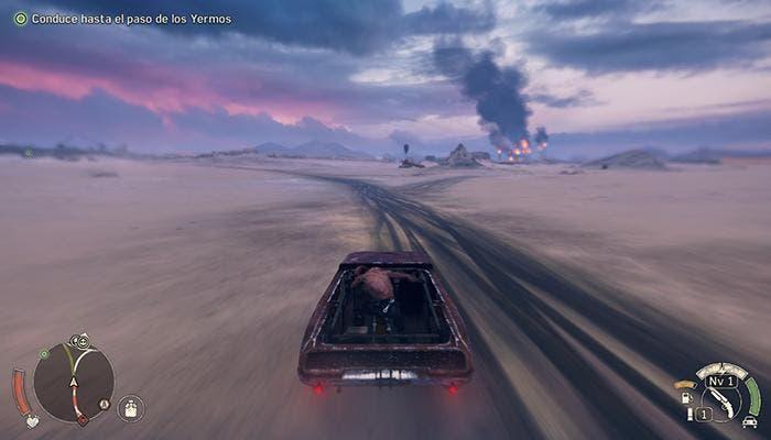 Mad Max conducción