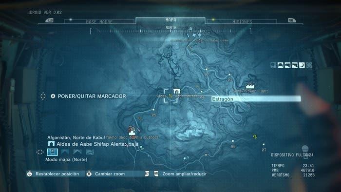 Mapa MGSV