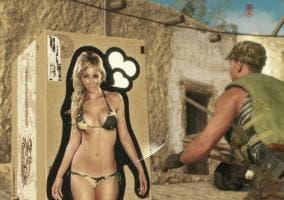 Metal Gear Solid V poster caja