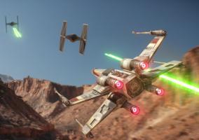 Star Wars Battlefront naves