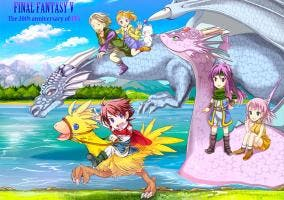 Final Fantasy V cover Steam lanzamiento
