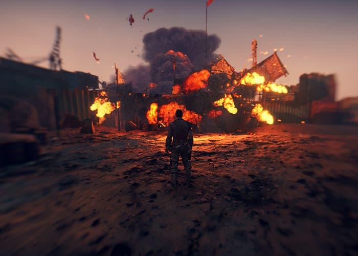Mad Max explosión