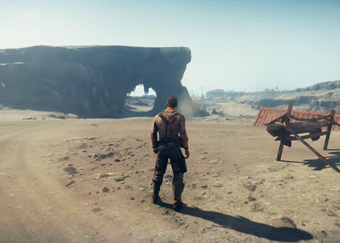 Mad Max desierto