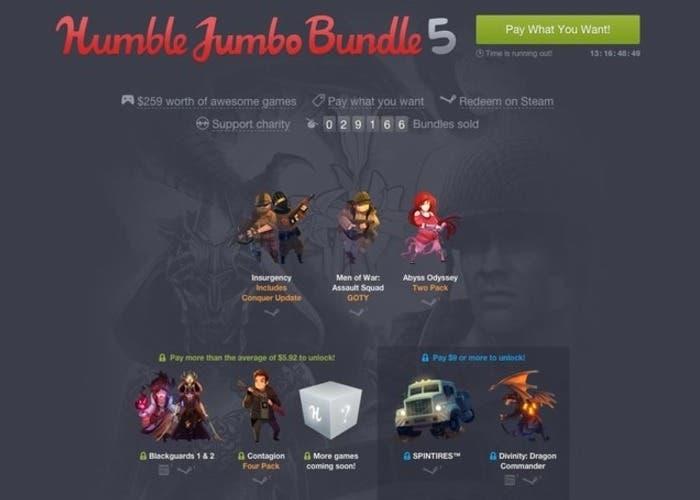 Humble Jumbo Bundle 5