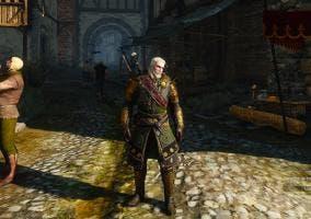 The Witcher Undvik armadura