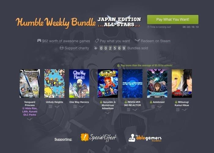 Humble Weekly Bundle Japan Edition All-Stars