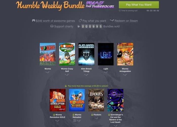 Humble Weekly Bundle Team17