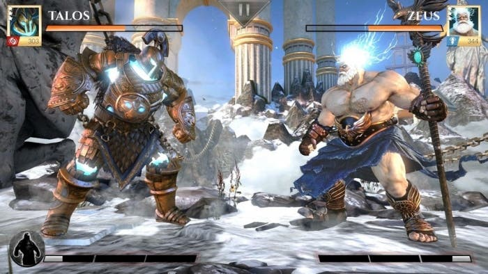 Gods of Rome lucha