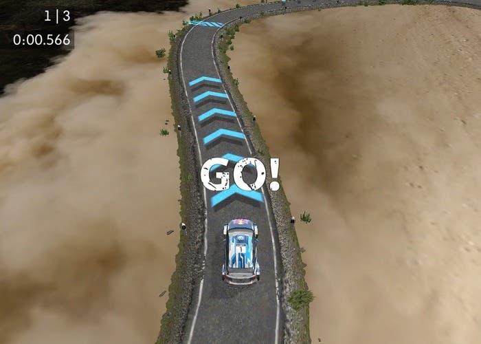 Race Anywhere pista