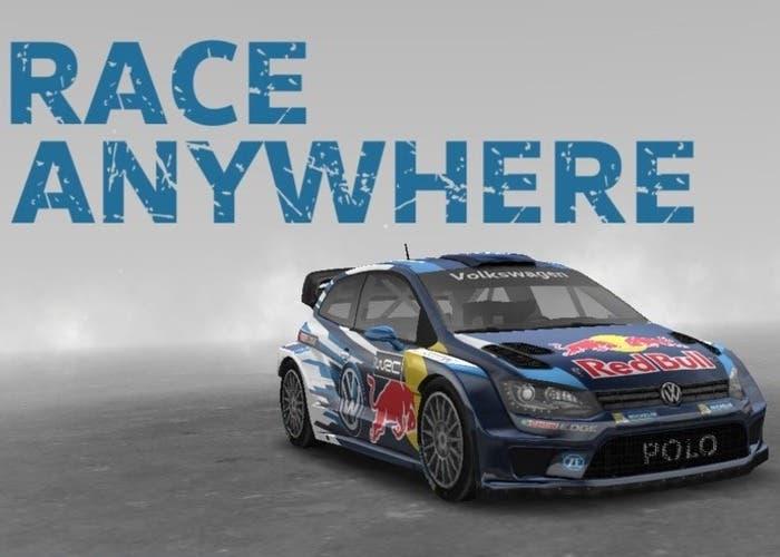 Volkswagen Race Anywhere portada