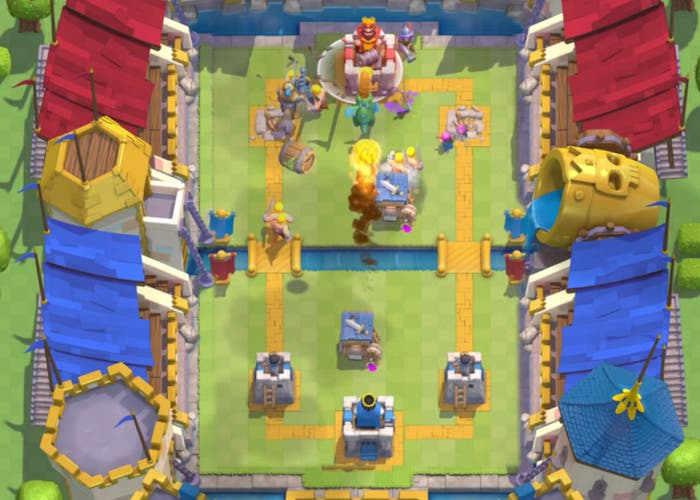 Clash Royale batalla