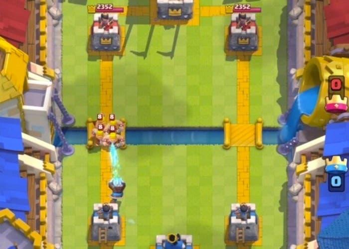 Clash Royale mago hielo