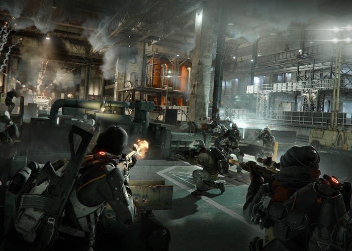 The division raid