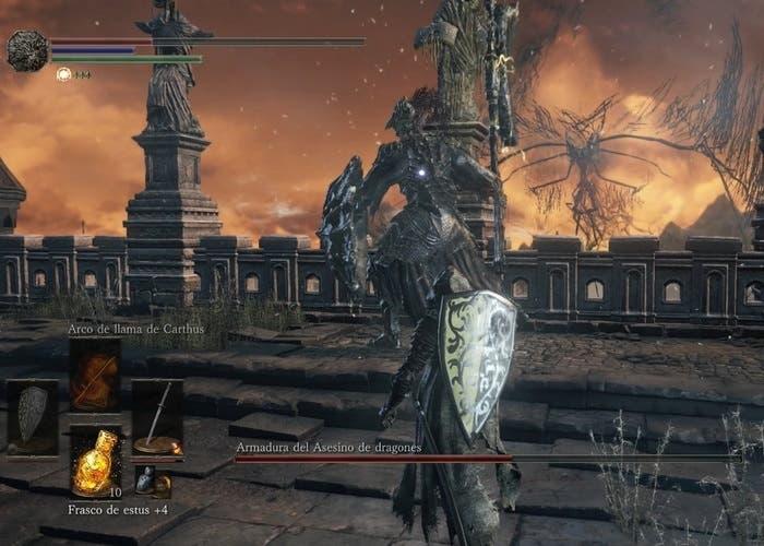 Armadura del asesino de dragones Dark Souls 3
