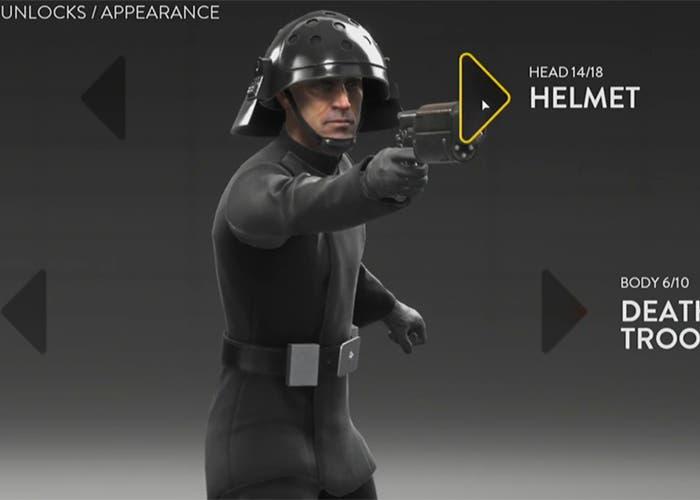 battlefront apariencia nivel