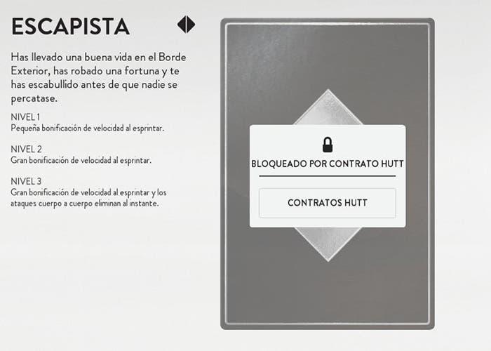 escapista contrato battlefront