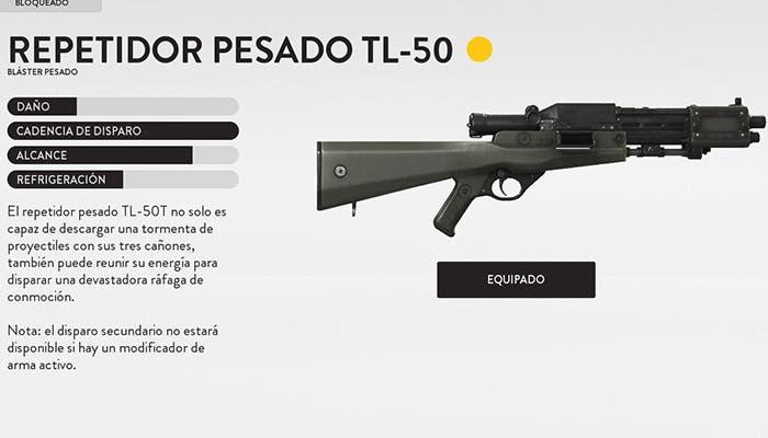tl 50 battlefront