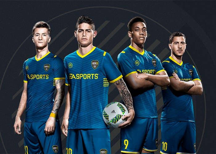 ultimate team fifa 17