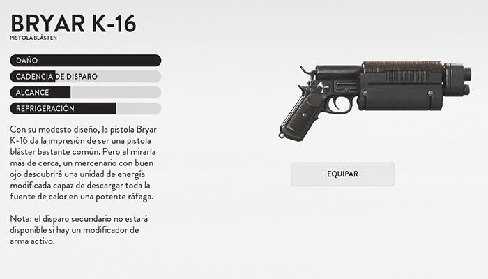 bryar k 16 Battlefront