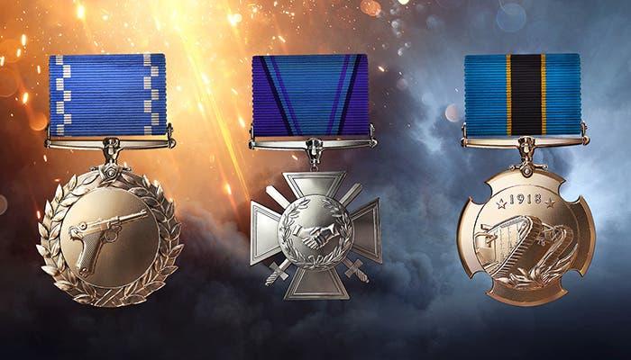 medallas ganar battlefield 1
