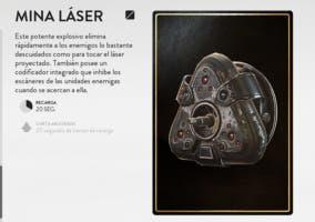 mina laser battlefront