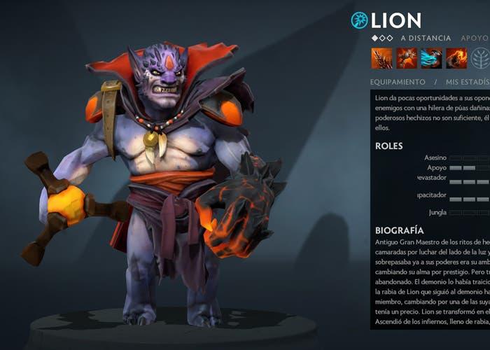 lion heroes faciles dota 2