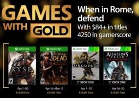 Juegos Gold abril