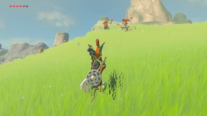 Zelda Breath of the Wild gallos