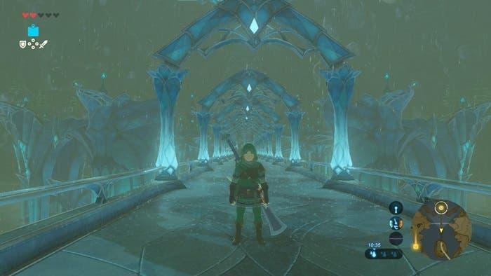 Zelda Breath of the Wild tridente