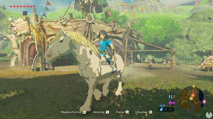 Zelda Breath of the Wild caballo