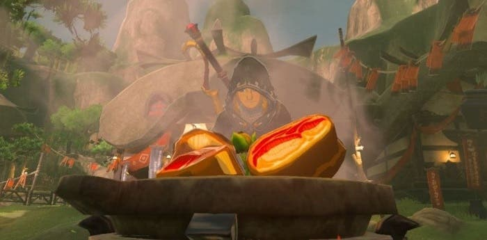 Zelda Breath of the Wild cocinar