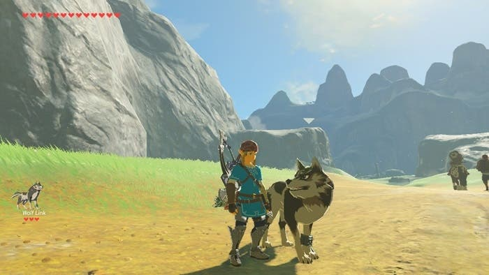 Zelda Breath of the Wild lobo