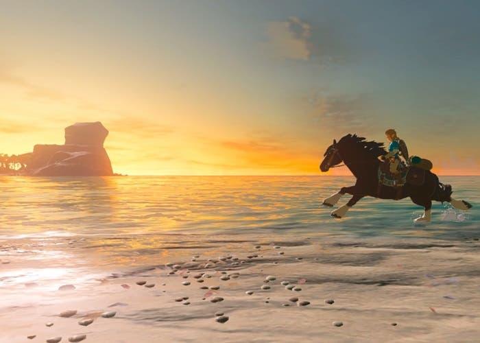 Zelda Breath of the Wild caballo