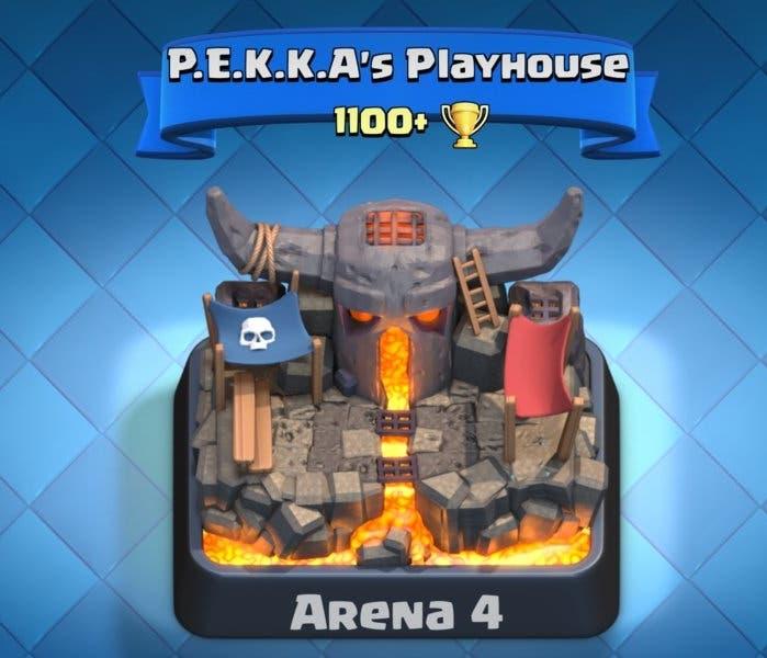 Arena 4 Fuerte del PEKKA