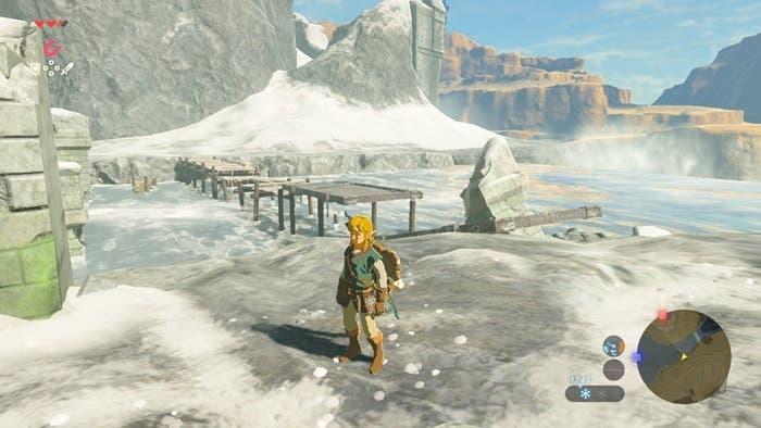 Zelda Breath of the Wild nieve