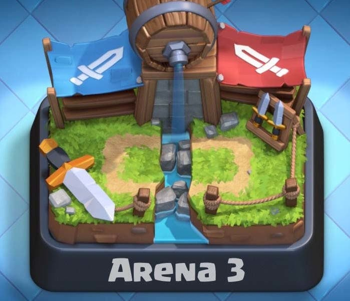 Arena 3 Clash Royale