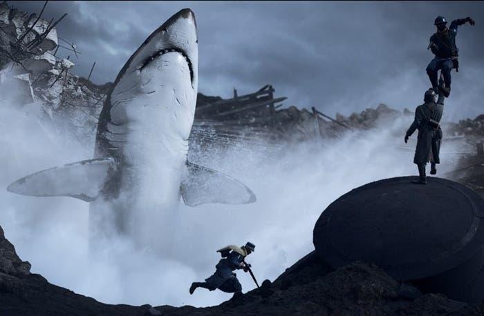 Cómo encontrar al megalodón en Battlefield 1