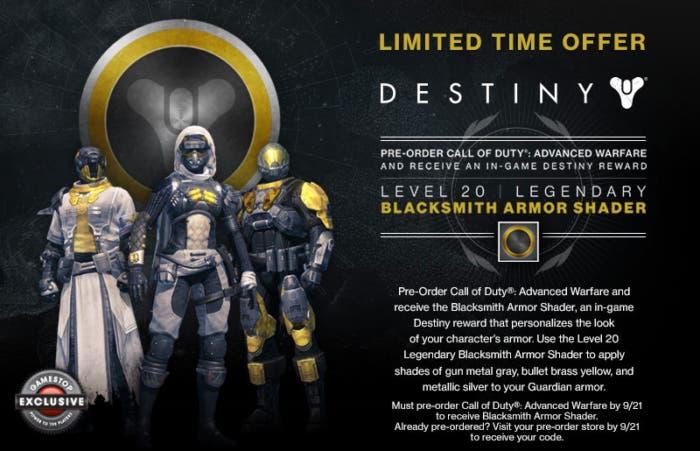 Prereserva Destiny por tiempo limitado