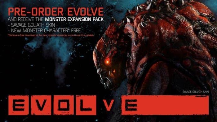 Prereserva Evolve y consigue extras