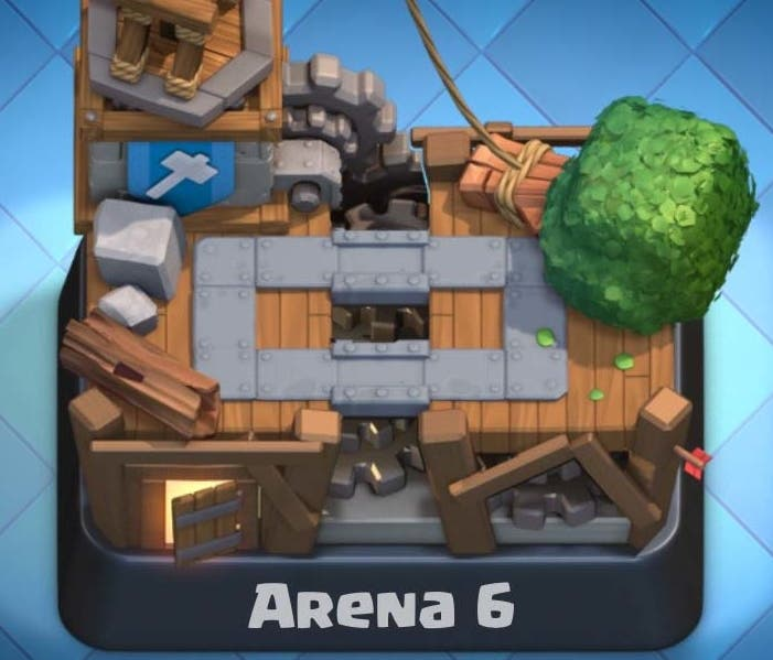 Arena 6 Clash Royale