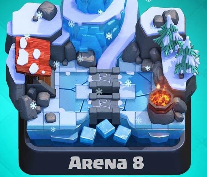 Pico helado Arena 8