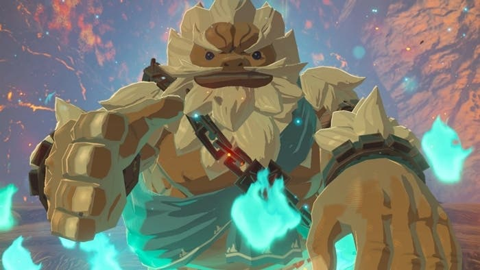 Zelda Breath of the Wild Daruk