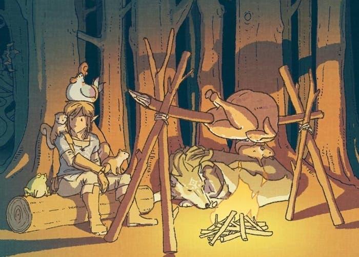 Zelda Breath of the Wild bárbaro