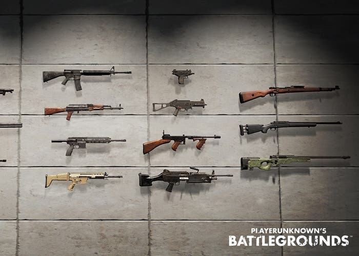 Playerunknown S Battlegrounds Weapons: Mejores Armas En Playerunknown's Battlegrounds